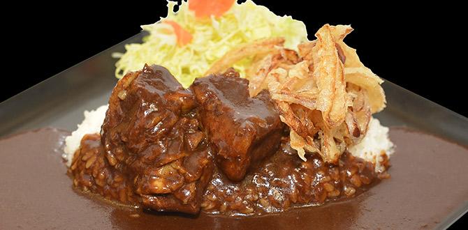 쇠고기 듬뿍 블랙 카레